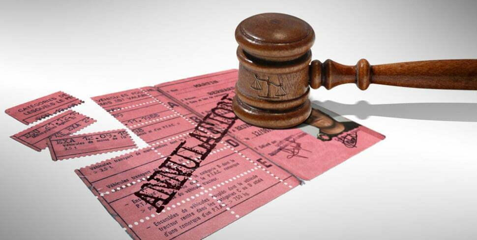 Repasser le permis après annulation - que faire